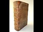 Restaurierte Bibel Anno 1610 Ledereinband